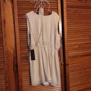 bebe Dresses - Cream dress